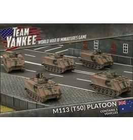 Battlefront Miniatures M113 (T50) Platoon