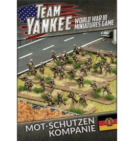 Battlefront Miniatures East German Mot-Schutzen Kompanie