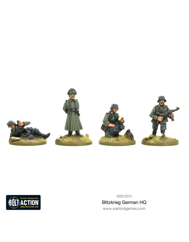 Warlord Games Blitzkrieg German HQ (1939-42) (Revised)