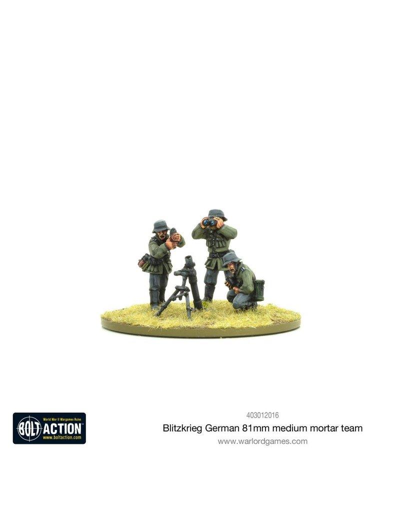 Warlord Games Blitzkrieg GermanMedium Mortar Team (1939-42) (Revised)