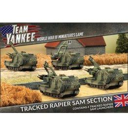 Battlefront Miniatures Tracked Rapier SAM Section