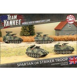 Battlefront Miniatures Spartan / Striker Troop