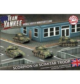 Battlefront Miniatures Scorpion / Scimitar Troop