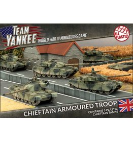 Battlefront Miniatures Chieftain Armoured Troop