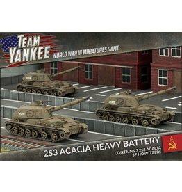 Battlefront Miniatures 2S3 Acacia Heavy SP Howitzer Battery