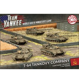 Battlefront Miniatures T-64 Tankovy Company