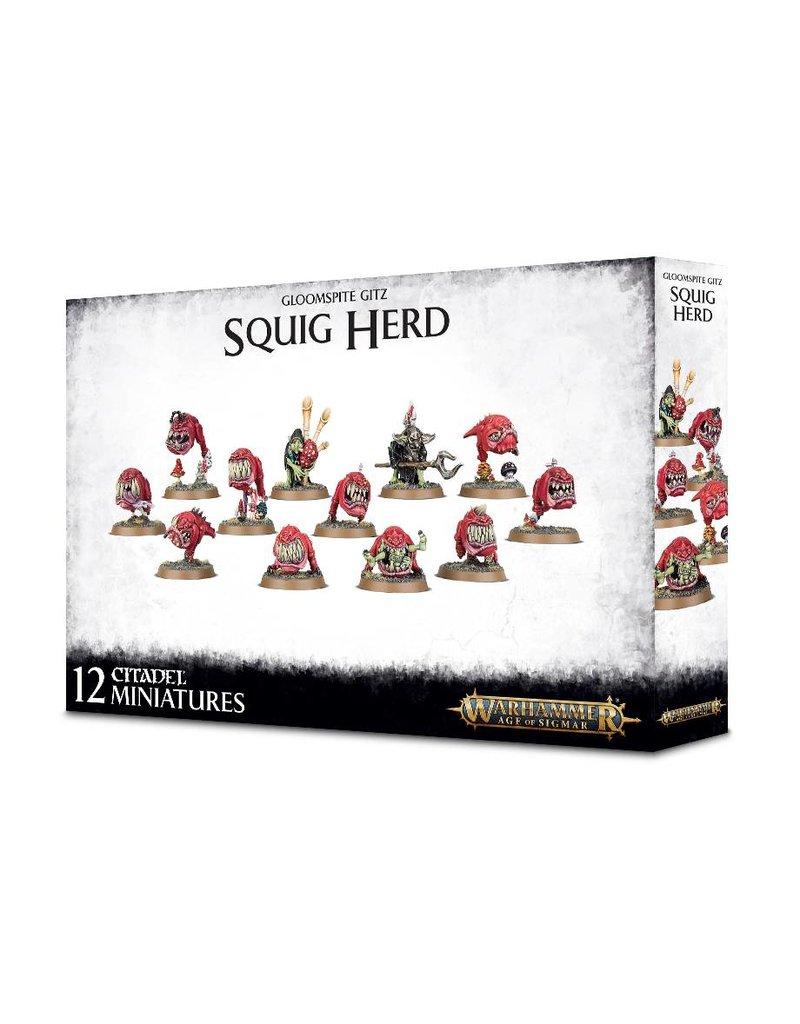 Games Workshop Gloomspite Gitz: Squig Herd