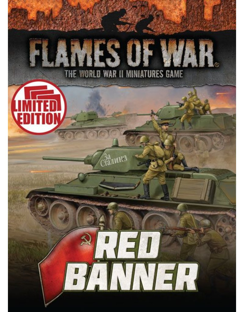 Battlefront Miniatures Soviet Red Banner Unit Cards