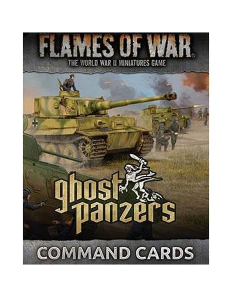 Battlefront Miniatures German Ghost Panzers Command Cards