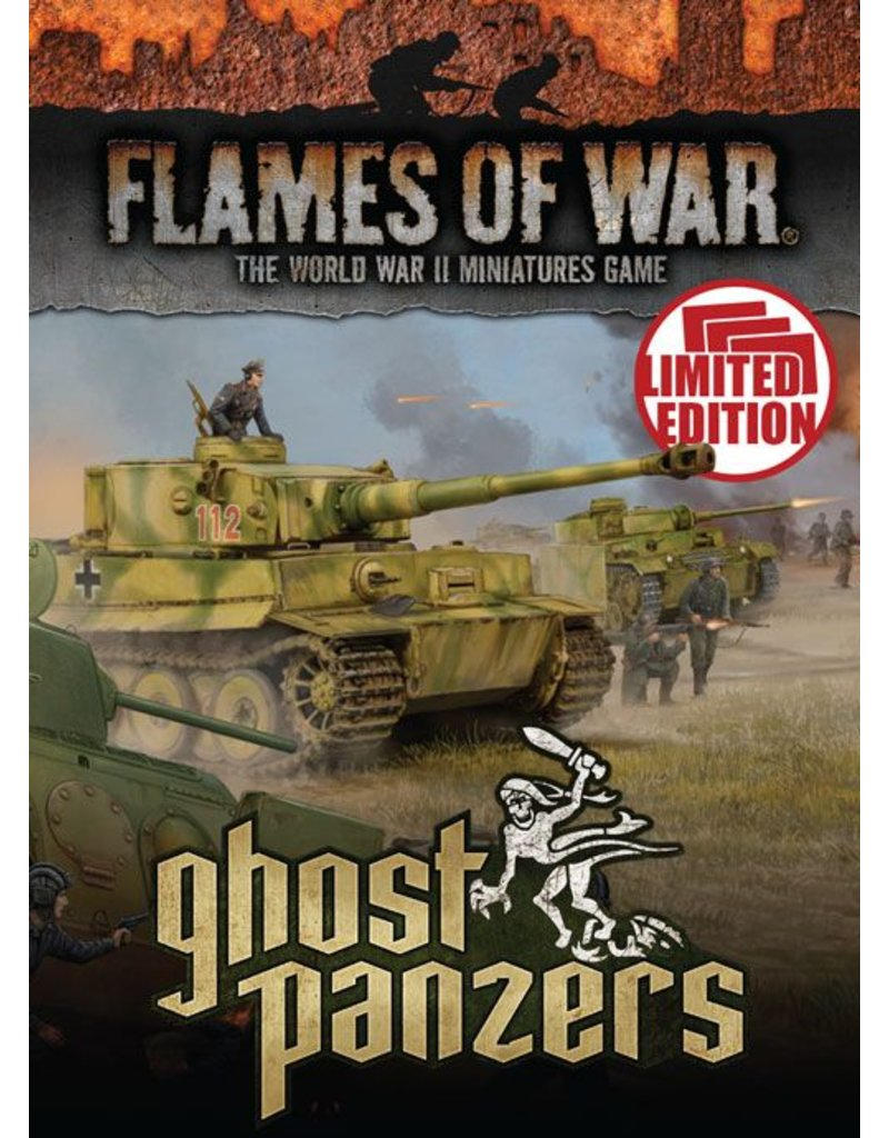 Battlefront Miniatures German Ghost Panzers Unit Cards