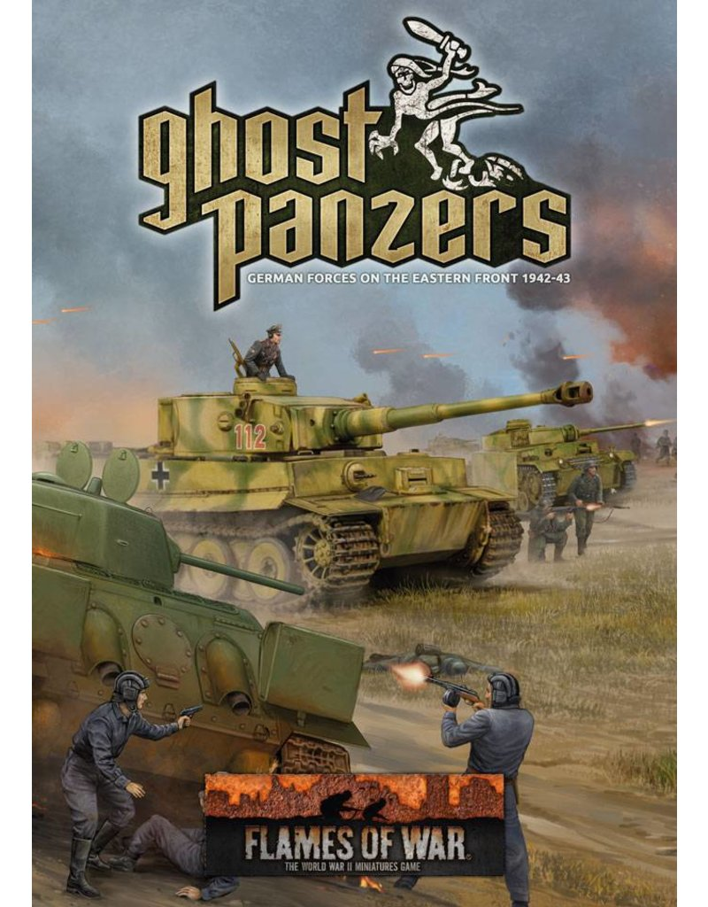 Battlefront Miniatures German Ghost Panzers Rule Book