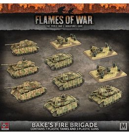 Battlefront Miniatures Bäke's Fire Brigade