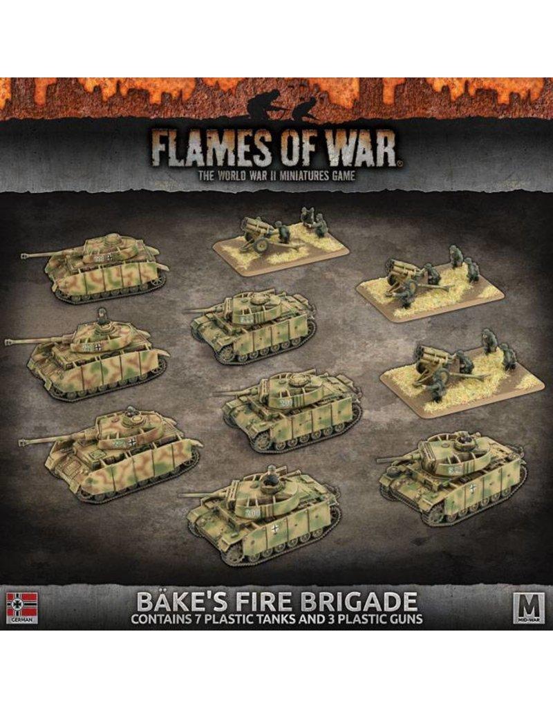 Battlefront Miniatures German Bake's Fire Brigade