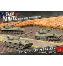 Battlefront Miniatures 2S1 Carnation Battery