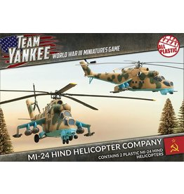 Battlefront Miniatures Mi-24 Hind Helicopter Company
