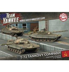 Battlefront Miniatures T-72 Tankovy Company