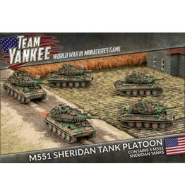 Battlefront Miniatures M551 Sheridan Tank Platoon