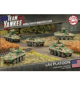 Battlefront Miniatures LAV Platoon