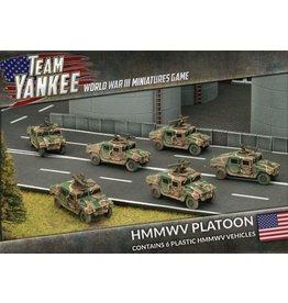 Battlefront Miniatures HMMWV Platoon