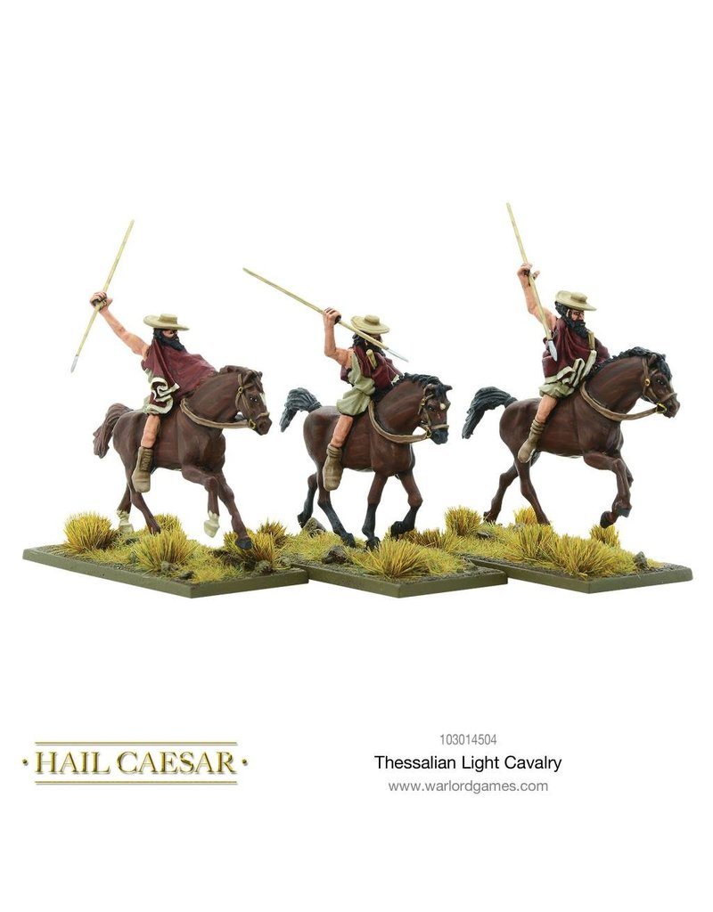 Warlord Games Aegean States Greek Thessalian Light Cavalry Pack