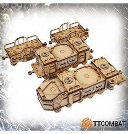 TT COMBAT War Train Set