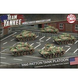 Battlefront Miniatures M60 Patton Tank Platoon