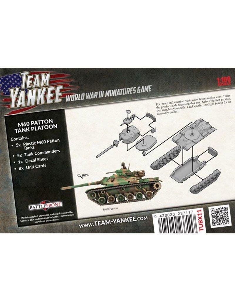 4b8ed917aac4 ... Battlefront Miniatures US American Stripes M60 Patton Tank Platoon ...