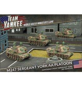 Battlefront Miniatures M247 Sergeant York AA Platoon
