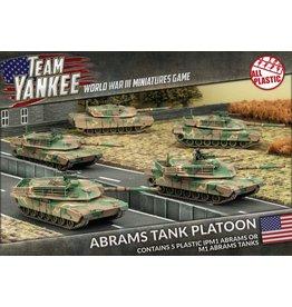 Battlefront Miniatures Abrams Tank Platoon