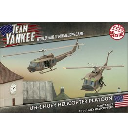 Battlefront Miniatures UH-1 Huey Transport Helicopter Platoon