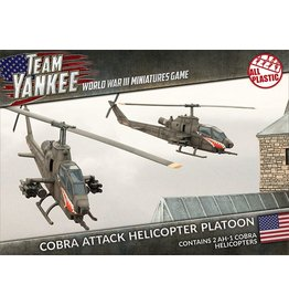 Battlefront Miniatures Cobra Attack Helicopter Platoon