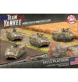 Battlefront Miniatures M113 / M106 Platoon