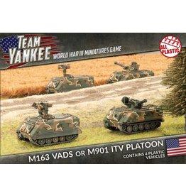 Battlefront Miniatures M163 VADS / M901 ITV Platoon