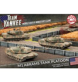 Battlefront Miniatures M1 Abrams Tank Platoon