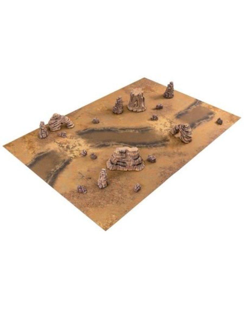 Game Mat Badlands set
