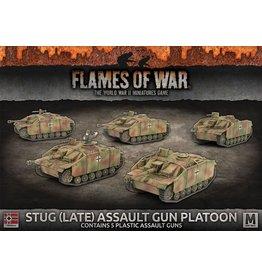 Battlefront Miniatures StuG (Late) Assault Gun Platoon