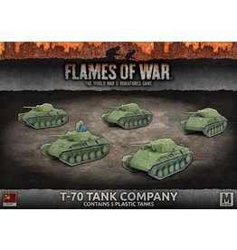 Battlefront Miniatures T-70 Tank Company