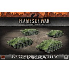 Battlefront Miniatures SU-122 Medium SP Battery