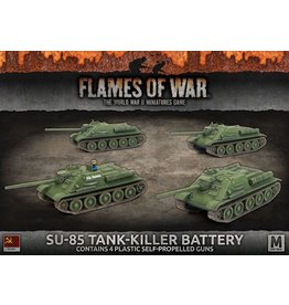 Battlefront Miniatures SU-85 Tank-Killer Battery