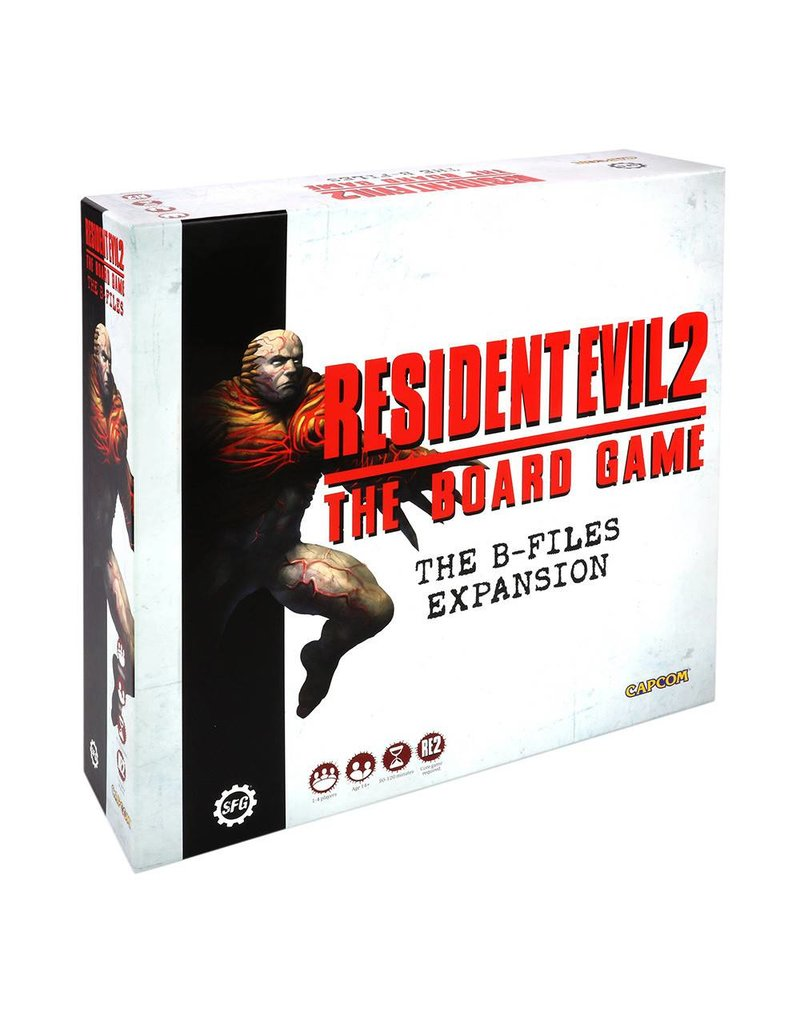 Buy B Files Expansion Online Resident Evil 2 Board Game
