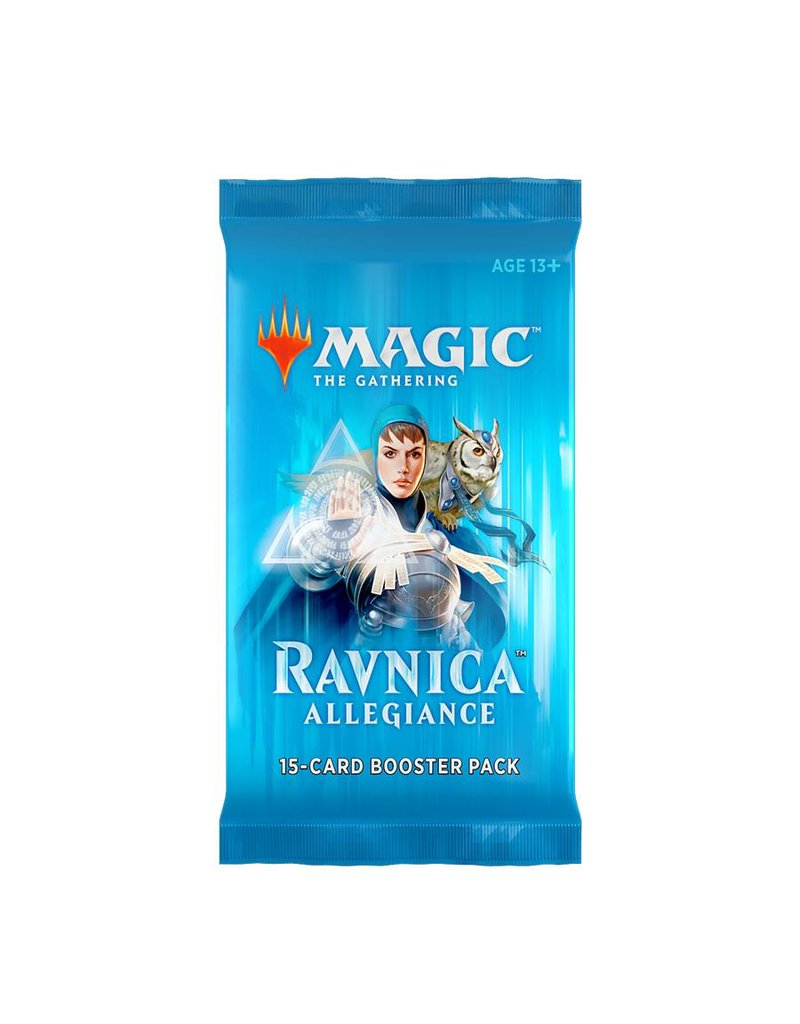 Wizards of the Coast Magic The Gathering: Ravnica Allegiance Booster Pack
