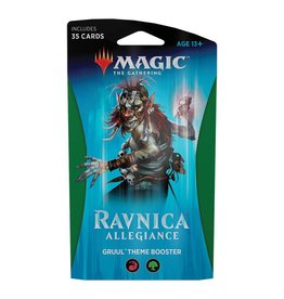 Wizards of the Coast MTG: Ravnica Allegiance Theme Booster – Gruul Clans