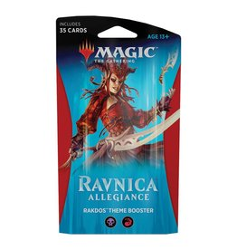 Wizards of the Coast MTG: Ravnica Allegiance Theme Booster – Cult Of Rakdos