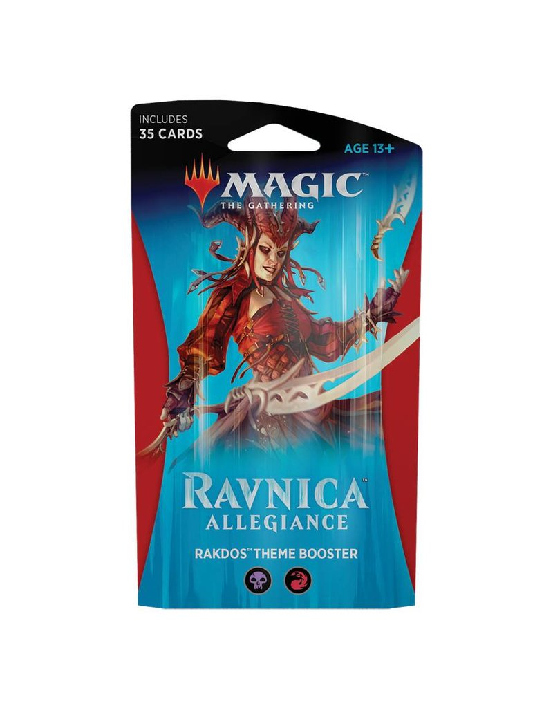 Wizards of the Coast Magic The Gathering: Ravnica Allegiance Theme Booster - Cult Of Rakdos