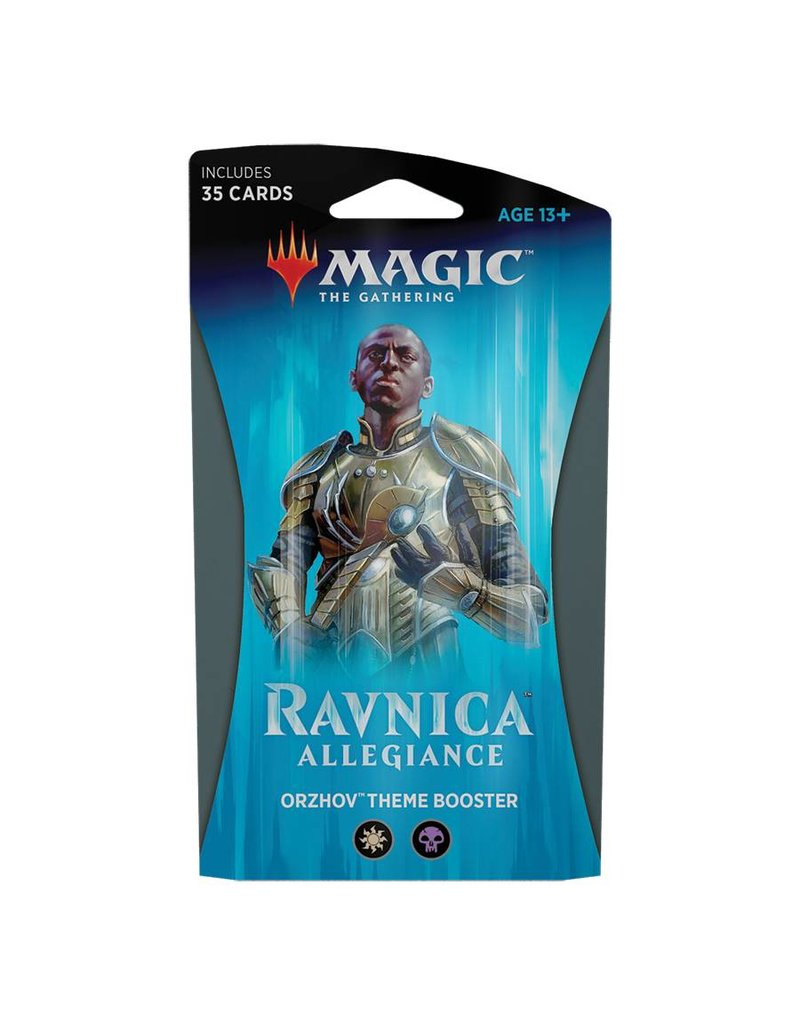 Wizards of the Coast Magic The Gathering: Ravnica Allegiance Theme Booster - Orzhov Syndicate