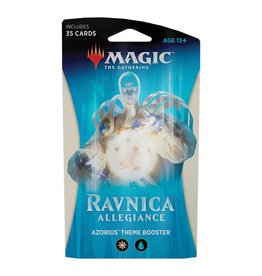Wizards of the Coast MTG: Ravnica Allegiance Theme Booster – Azorius Senate
