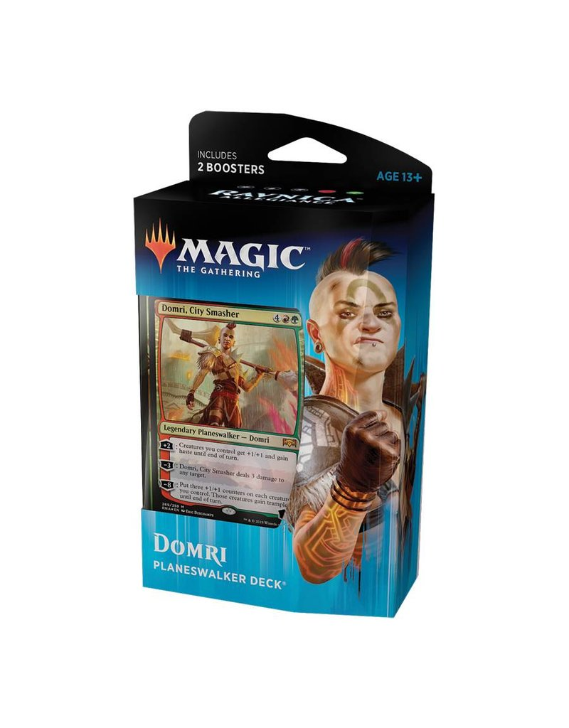 Wizards of the Coast Magic The Gathering: Ravnica Allegiance Planeswalker Deck - Domri