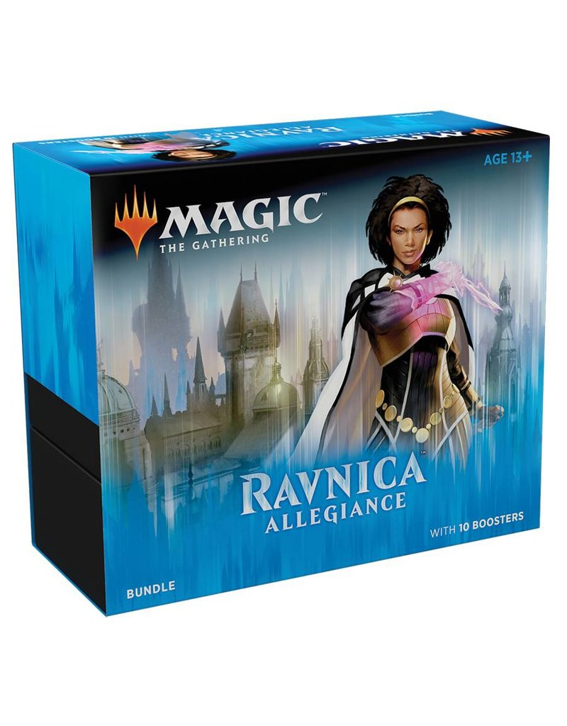 Wizards of the Coast Magic The Gathering: Ravnica Allegiance Bundle