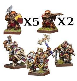 Mantic Games Vanguard: Dwarf Warband Set