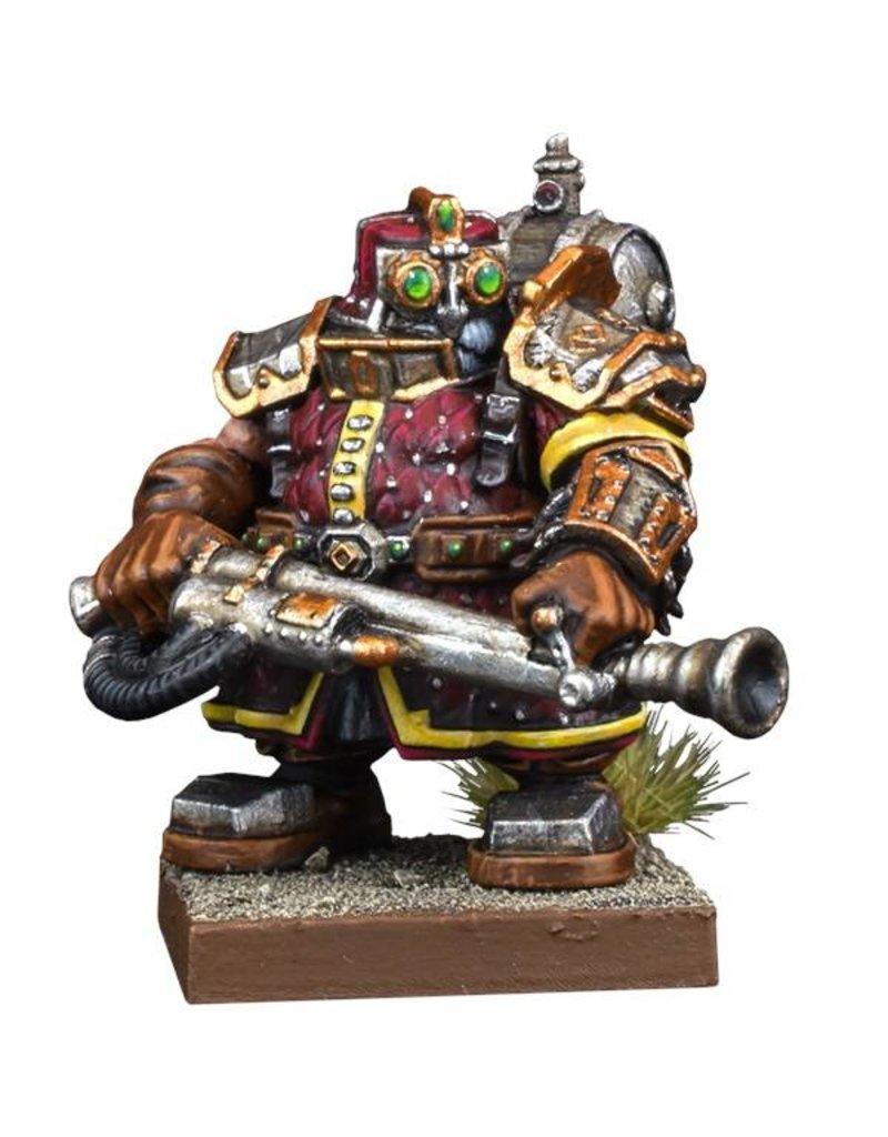 Mantic Games Kings Of War Vanguard Dwarf Support Pack: Flame Priest